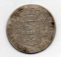 BRAZIL, 320 Reis, 1787, Silver, KM #221.1 - Brasil