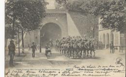 Metz  Porte Serpenoise Avant L'Elargissement Et Soldats Allemands - Metz