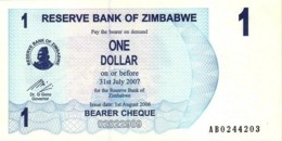 ZIMBABWE 1 DOLLAR 2006 P-37a UNC [ZW128a] - Zimbabwe