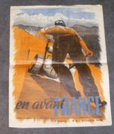 REVUE EN AVANT FRANCE N°5,  1ère ANNEE, 1945, MENSUEL FORMATION PRE-MILITAIRE DES JEUNES DE LA METROPOLE ET DE L'EMPIRE - 1939-45