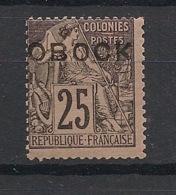 Obock - 1892 - N°Yv. 17 - Alphée Dubois 25c Noir Sur Rose - Neuf Luxe ** / MNH / Postfrisch - Obock (1892-1899)