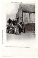 Beaumont La Sortie De L Eglise - Autres Communes