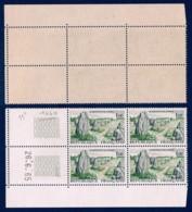 YVERT 1440 Coin Daté 26.6.65 ALIGNEMENTS DE CARNAC - SCAN RECTO-VERSO = SANSURPRISE - 1960-1969