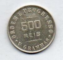 BRAZIL, 500 Reis, 1906, Silver, KM #506 - Brazil