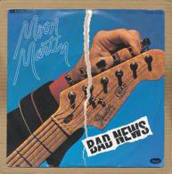 "7"" Single, Moon Martin - Bad News - Disco, Pop"