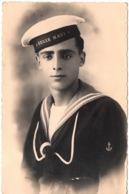 REGIE NAVI Marin à Livorno 1931 Carte Photo Italia Marinaio - Fotografie