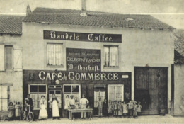 10x15  Café Du Commerce    à Ay Sur Moselle - France