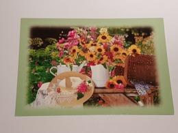 Sonnenblumen, Strauss (gelaufen Dtl. ,  1998); H39 - Botanik