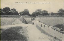 GENTILLY  Porte D'Arcueil, Vue Sur Le Parc Montsouris    ***CARTE RARE*** - Gentilly