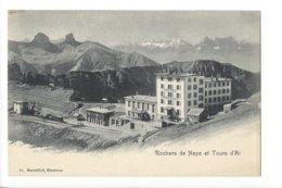 22631 -  Rochers De Naye Et Tour D'Äi Grand Hôtel - VD Vaud
