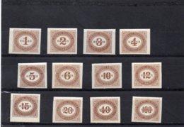 AUTRICHE 1900 * - Portomarken