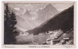 Österreich Südtirol Original Foto !!!  Ca.1910   15X10 Cm   - Trafoi G.D Ferner - Austria