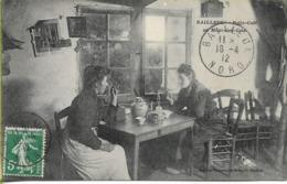 BAILLEUL  Potje-café Au Mont-de-cats - Altri Comuni