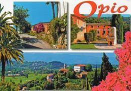 CPM - D - ALPES MARITIMES - OPIO - MULTIVUES - Francia