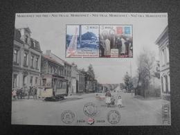 België Belgium 2019 - Neutraal Moresnet / Moresnet Neutre / Neutral-Moresnet / Neŭtra Moresneto - Stamp On Stamp - Belgique