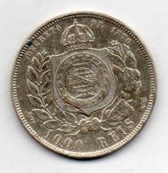 BRAZIL, 1000 Reis, 1886, Silver, KM #481 - Brazil