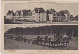 Darmstadt, Heimkehr Vom Griesheimer Exerzierplatz, Kaserne Des Feld-Artillerie-regiments - Germania