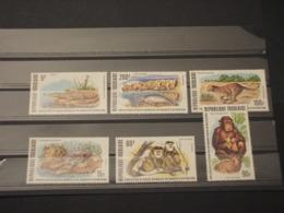 TOGO - 1977 ANIMALI 6 VALORI - NUOVI(++) - Togo (1960-...)