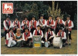 Carte Postale Belgique  Izegem  Blaaskapelle THORIZ Orchestra  Super Delhaize Trés Beau Plan - Izegem