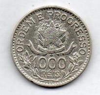 BRAZIL, 1000 Reis, 1913, Silver, KM #513 - Brazil