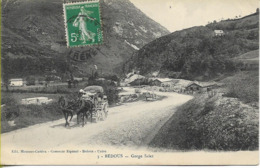 BEDOUS  Gorge Salet (diligence Sur La Route) - France