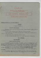 "Document Dactylographié Cinéum - Projection En 1948 De  "" Un Chien Andalou "" De  Bunuel Et  Dali - Scenario - Werbetrailer"