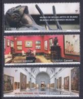 16.- SPAIN ESPAGNE 2019 MUSEUMS - SOROLLA, EL PRADO, FINE ARTS OF BILBAO MUSEUMS - Museos
