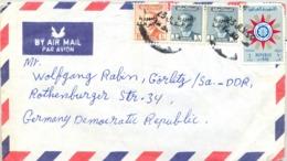 1960 , IRAK / IRAQ , SOBRE CIRCULADO ENTRE BAGHDAD Y GÖRLITZ , CORREO AÉREO - Irak