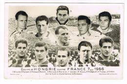 Photo. Equipe De Hongrie Contre France. 7 Octobre 1956 (M.058). - Football