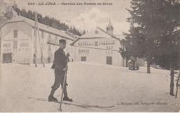 CPA Le Jura (La Faucille) - Service Des Postes En Hiver (facteur à Ski) - Frankreich