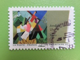 """Timbre France YT 701 AA - Art - Cubisme - """"Rugby"""" D'André Lhote - 2012 - France"""