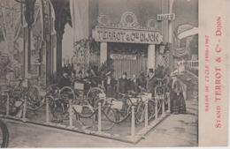 CPA (Paris) - Salon Du Cycle 1906 - 1907 - Stand Terrot & Cie - Dijon (belle Scène) - Expositions