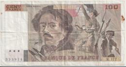 FRANCE P. 154d 100 F 1990 F - 1962-1997 ''Francs''