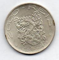 BRAZIL, 2000 Reis, 1932, Silver, KM #532 - Brazil