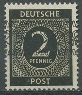 Bizone 1948 I. Kontrollratsausgabe Mit Bandaufdruck 52 I Postfrisch - Bizone
