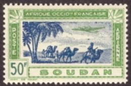 Soudan /Sudão   1942 -  Airmail - Airplane  50F  #Cond. MNH - Neufs
