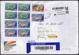 Seycheles / Fishes / R Letter To Germany - Seychellen (1976-...)