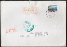 Croatia Zagreb 1994 / Vis / Machine Stamp On Post Label - Croatia