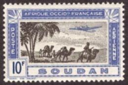 Soudan /Sudão   1942 -  Airmail - Airplane  10F  #Cond. MNH - Soudan (1894-1902)