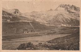 Carte Postale Ancienne Des Hautes-Alpes - Col Du Lautaret - La Route En Lacet Vers Le Col Du Galibier - France