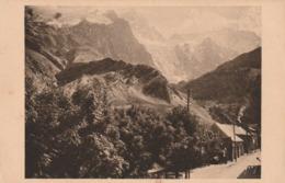 Carte Postale Ancienne Des Hautes-Alpes - Col Du Lautaret - Le Massif De La Meije - La Brèche - France