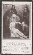 Prent Vlaeminck-1933-zie Scan - Imágenes Religiosas