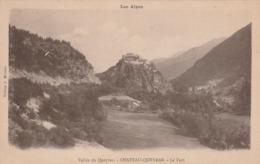 Carte Postale Ancienne Des Hautes-Alpes - Château Queyras - Le Fort - France