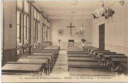 Puurs    *  Pensionnat Des Religieuses Ursulines - La Salle D'Etude - Studiezaal - Puurs