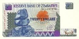 ZIMBABWE 20 DOLLARS 1997 P-7a UNC  [ZW107a] - Simbabwe
