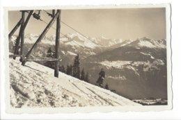 22650 - Crans-sur-Sierre La Piste Du Ski-Lift Skieur 1942 - VS Valais
