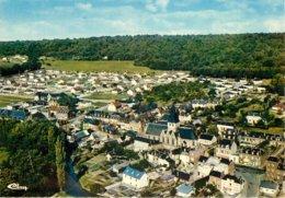SERQUIGNY  VUE GENERALE AERIENNE SUR LE CENTRE - Serquigny