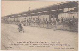 67 Strasbourg   Grand Prix Motocyclettes  Juillet 1922 - Strasbourg