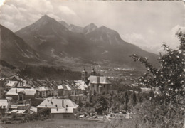Carte Postale Des Années 50-60 Des Hautes-Alpes - Briançon - Vue Sur La Ville Et La Vallée - Briancon