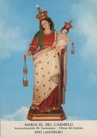 Cartolina Non Viaggiata Madonna Maria Ss Del Carmelo Da Lagonegro - Potenza - Potenza